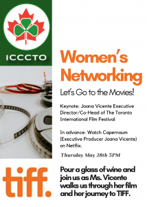 Women's Networking: Let's Go to the Movies